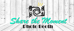 Share-the-moment Photo Booth Logo